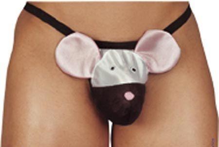 Мужские стринги Mouse с мышкой