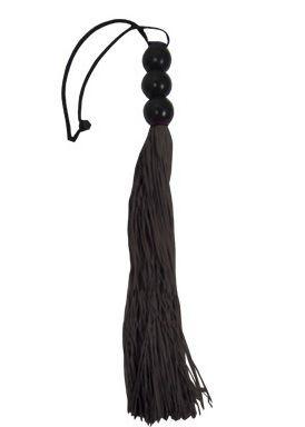 Небольшая черная плеть Medium Whip - 35 см.
