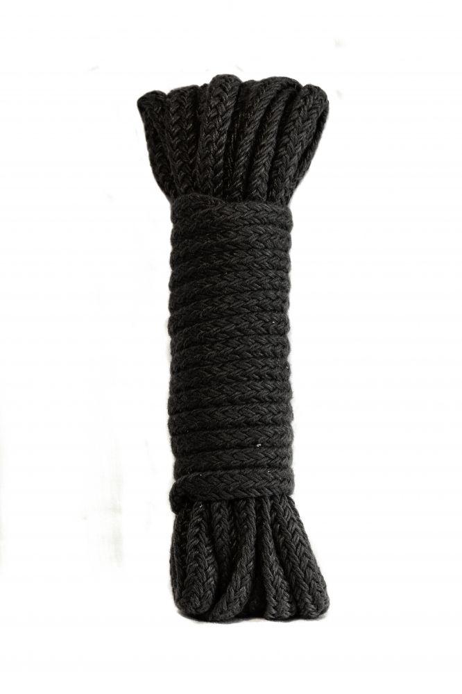 Черная веревка Bondage Collection Black - 9 м. - фото 144739