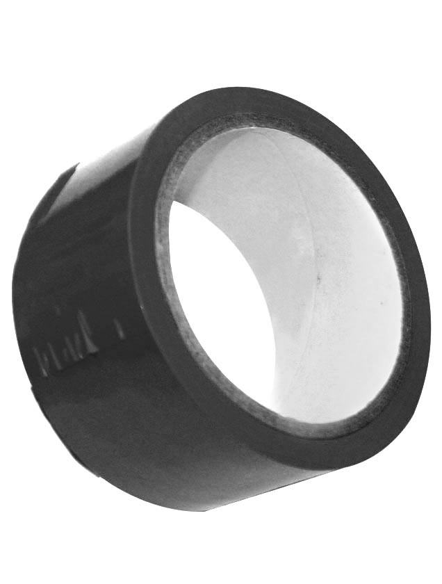 Липкая лента S M Bondage Tape чёрного цвета - 9,1 м.