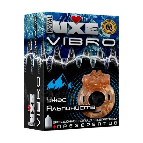 Эрекционное виброкольцо Luxe VIBRO  Ужас Альпиниста  - фото 1198261