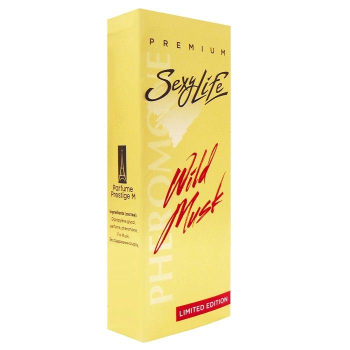 Мужские духи Wild Musk №1 с мускусом и феромонами - 10 мл. - фото 1660527