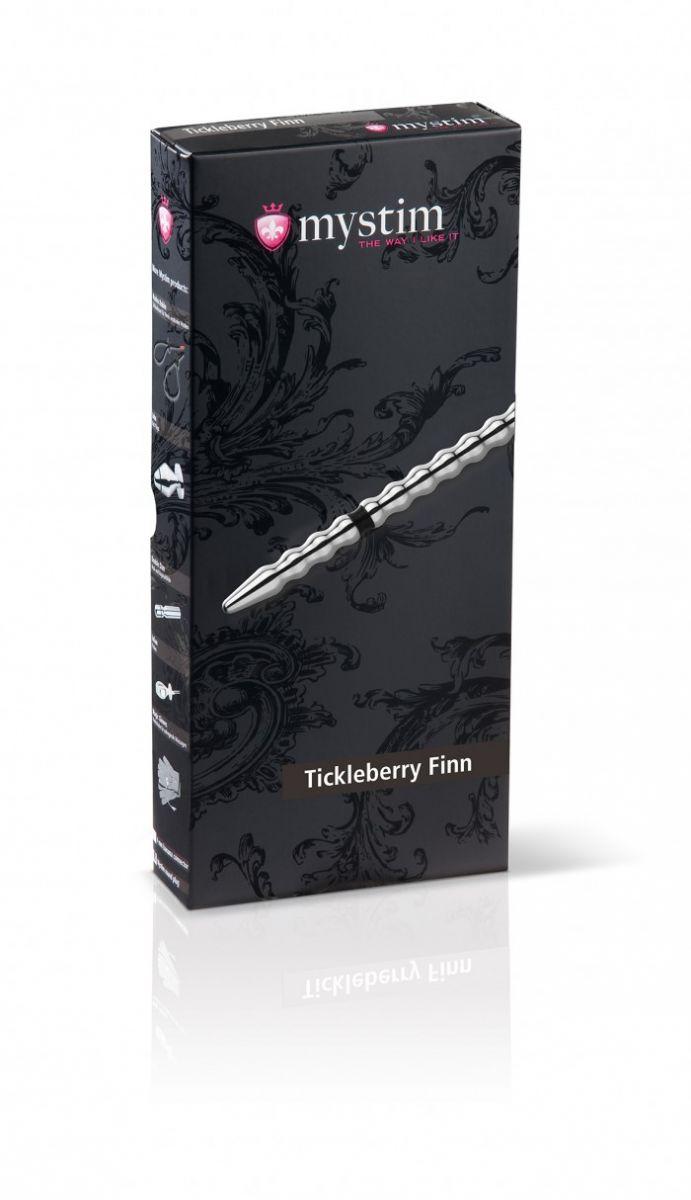 Уретральный зонд Tickleberry Finn для электростимуляции - фото 131288