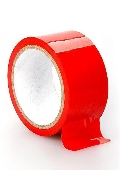 Красная лента для связывания Bondage Tape Red