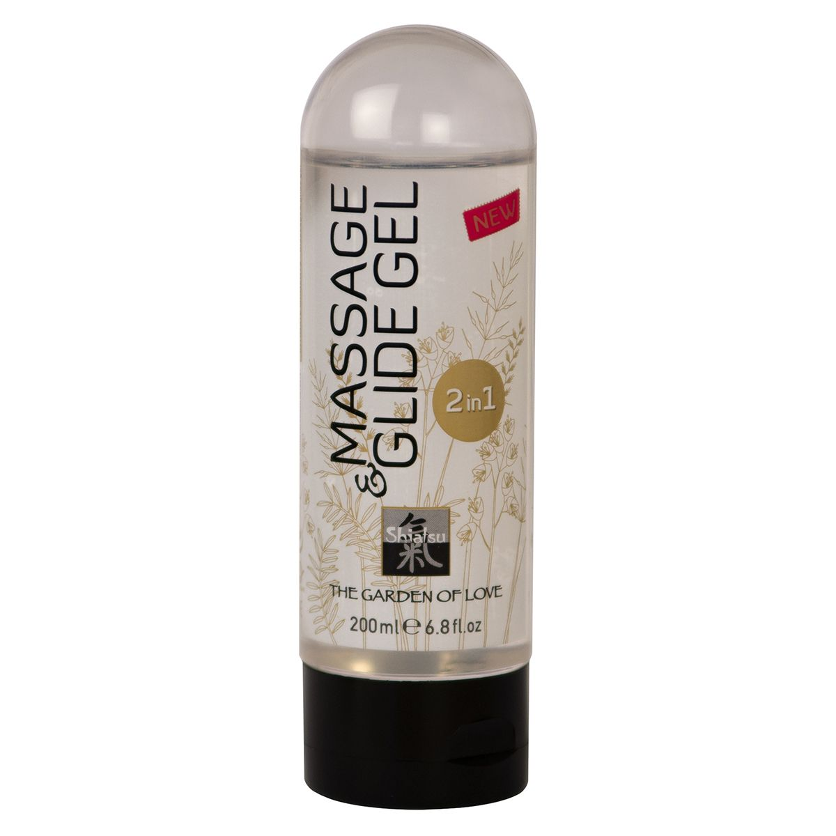 Массажное масло и лубрикант Massage    Glide Gel - 200 мл. - фото 146642
