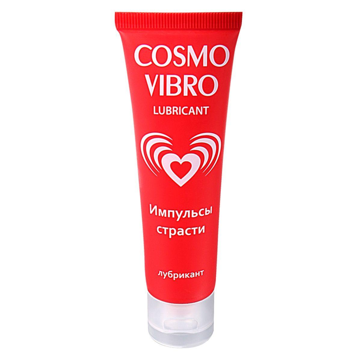 Женский стимулирующий лубрикант на силиконовой основе Cosmo Vibro - 50 гр. - фото 223689
