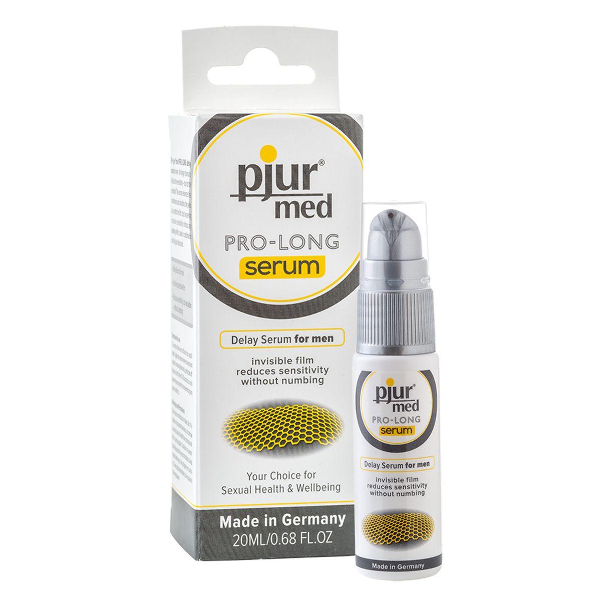 Концентрированная пролонгирующая сыворотка pjur MED Pro-long Serum - 20 мл. - фото 222084