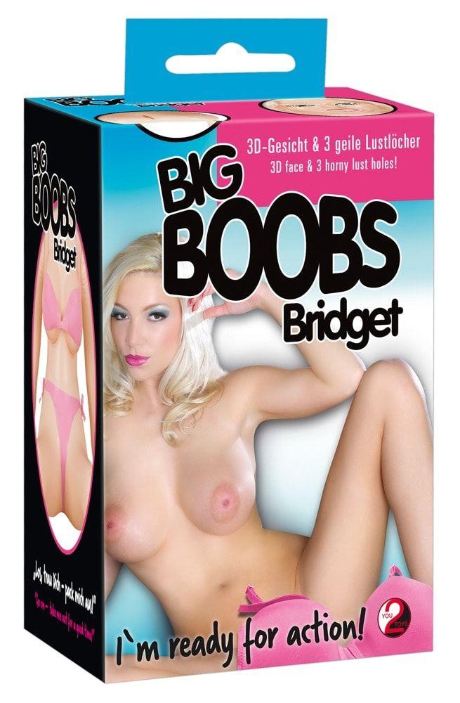 Надувная секс-кукла с большим бюстом Big Boob Bridges - фото 146932