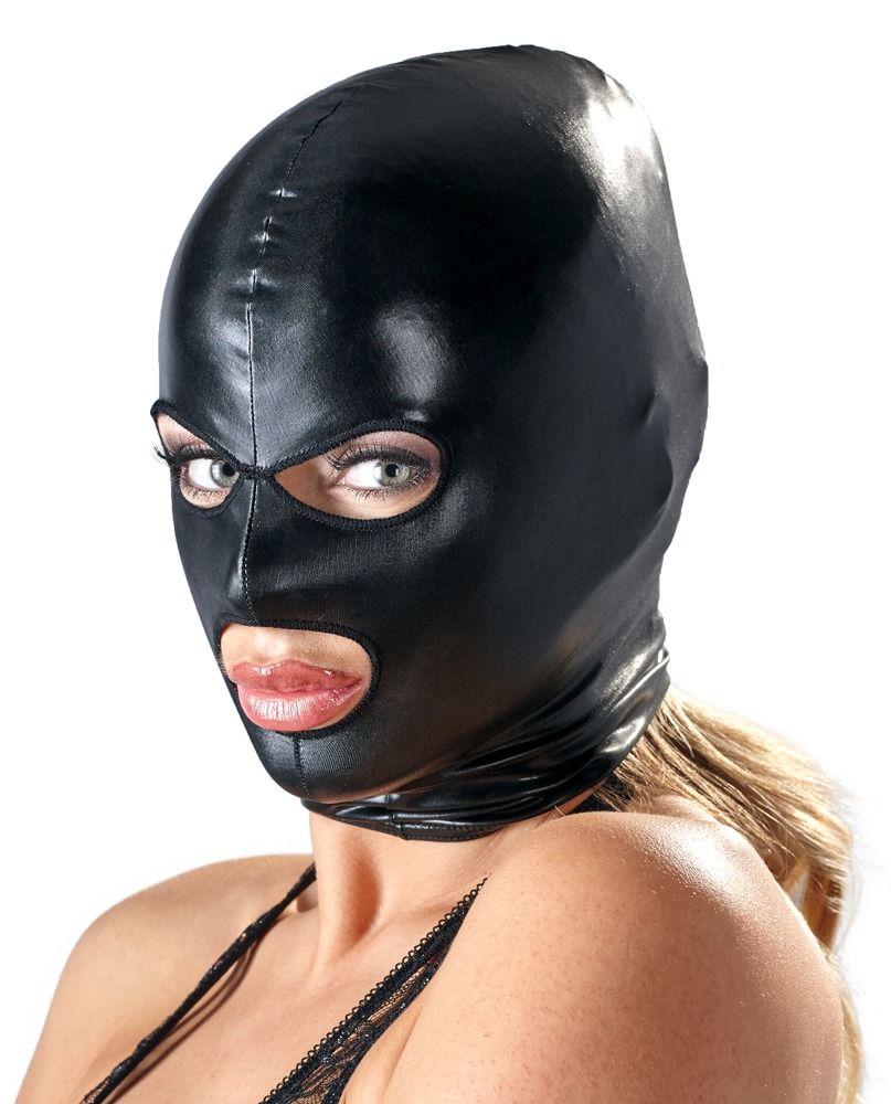 Маска на голову Head Mask с wet-look эффектом - фото 147199