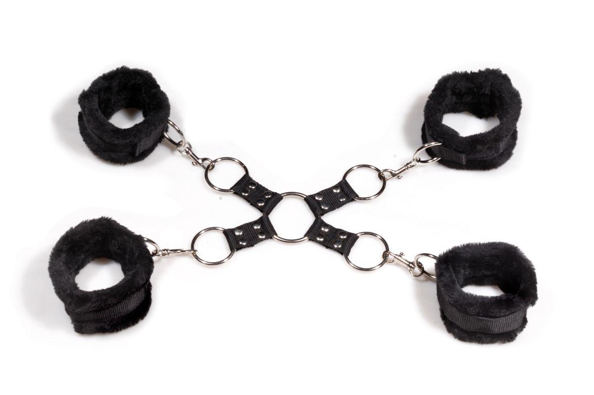 Набор манжет-фиксаторов с соединительным кольцом