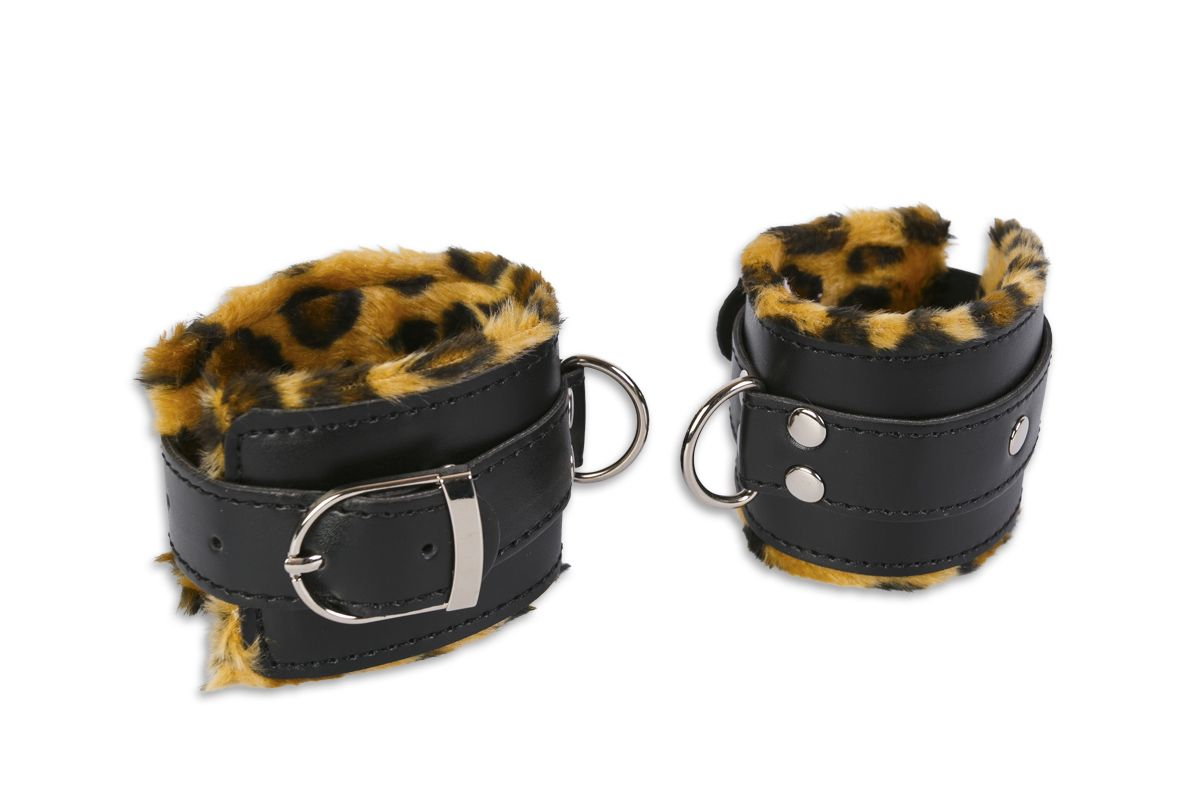 Манжеты с леопардовой отделкой - фото 147526
