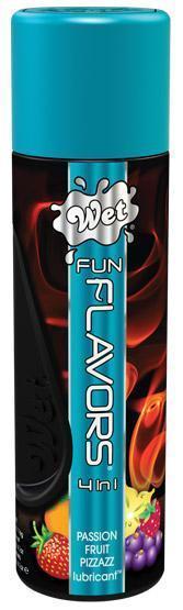 Разогревающий лубрикант Fun Flavors  4-in-1 Passion Punch с ароматом фруктов - 89 мл.