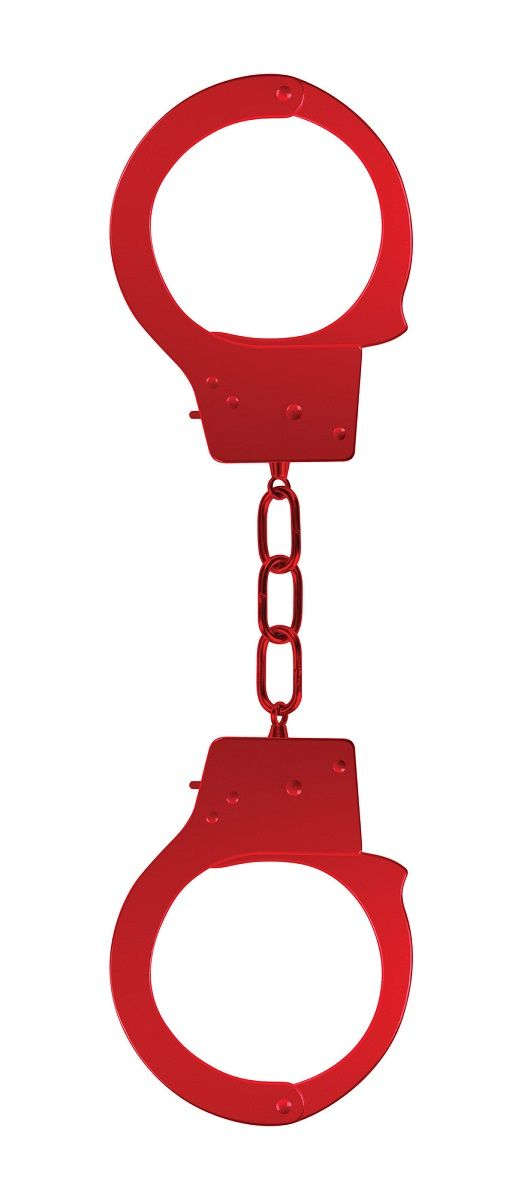 Красные наручники OUCH! Red - фото 183762