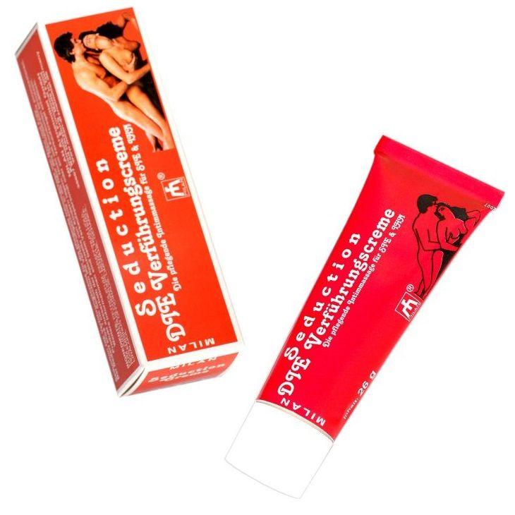 Возбуждающий интимный крем для мужчин и женщин Seduction - 28 мл. - фото 312161