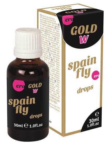 Возбуждающие капли для женщин Gold W SPAIN FLY drops - 30 мл. - фото 710429
