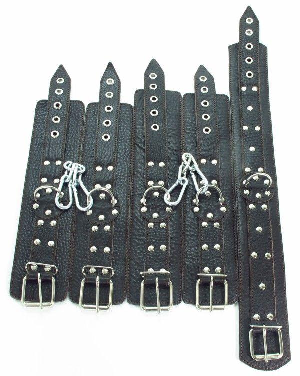 Набор кожаных фиксаторов - фото 148409