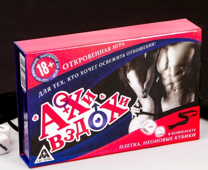 Секс-игра с карточками  Ахи вздохи
