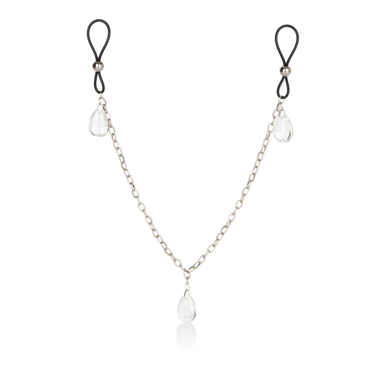 Зажимы на соски Non-Piercing Nipple Chain Jewelry - фото 195238