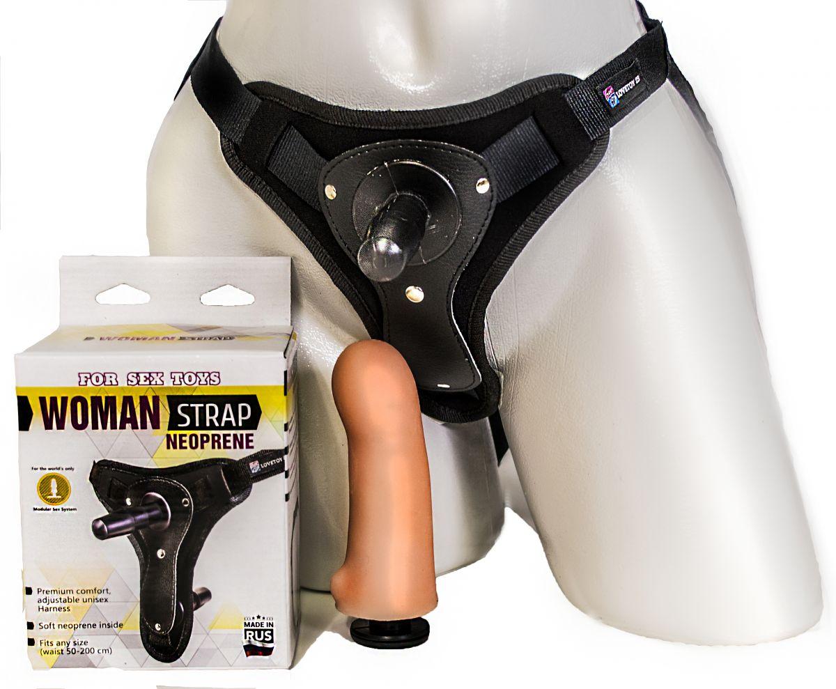 Пояс для женщин с внутренней насадкой WOMAN STRAP