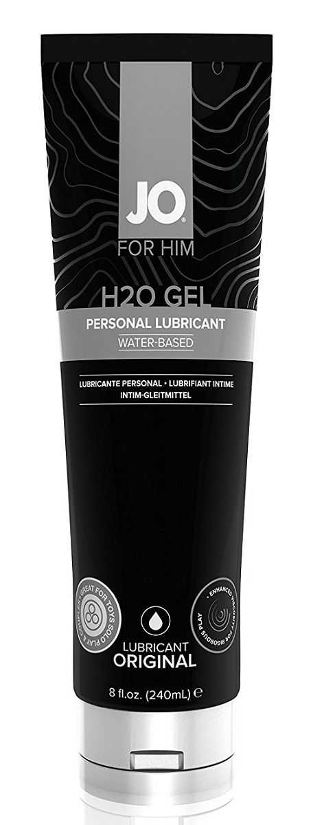 Лубрикант-гель для мужчин JO H2O GEL ORIGINAL - 240 мл. - фото 225011