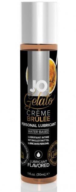 Лубрикант с ароматом крем-брюле JO GELATO CREME BRULEE - 30 мл. - фото 1663902
