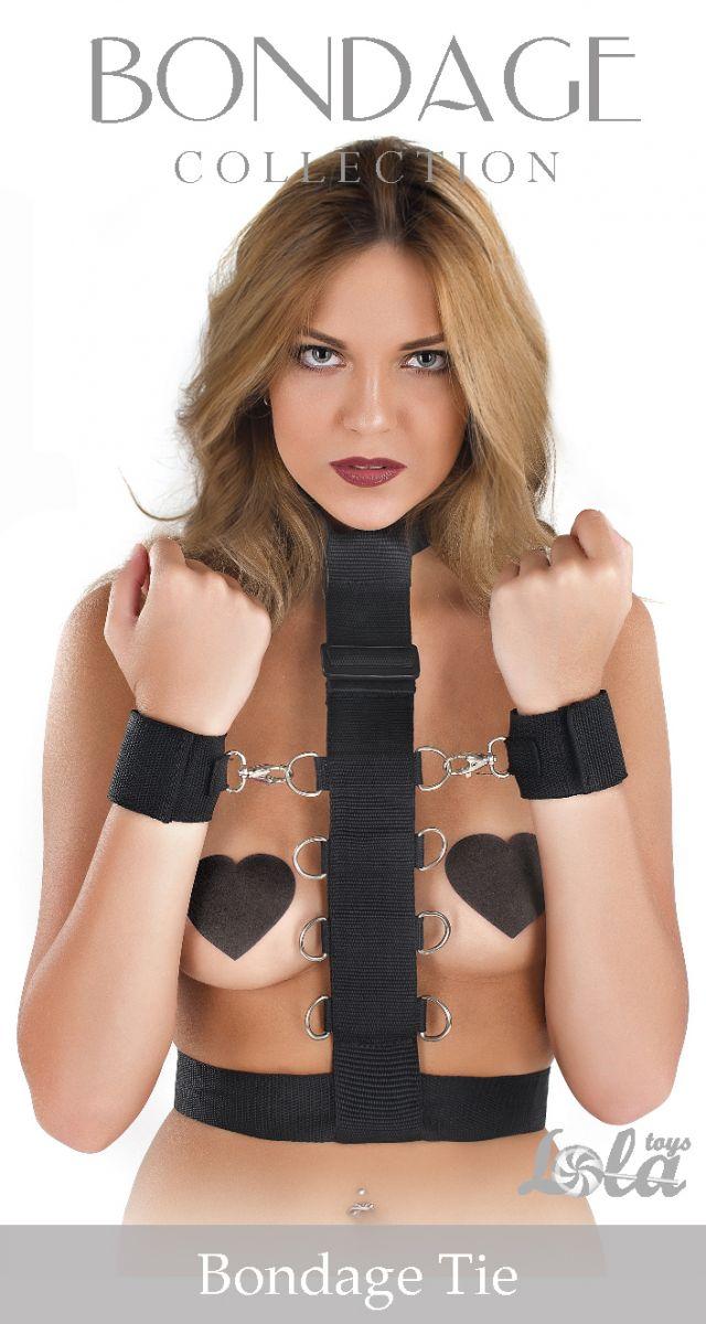 Фиксатор рук к груди Bondage Collection Bondage Tie One Size