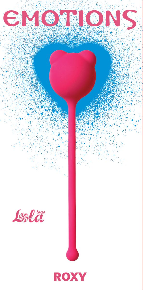 Розовый вагинальный шарик Emotions Roxy