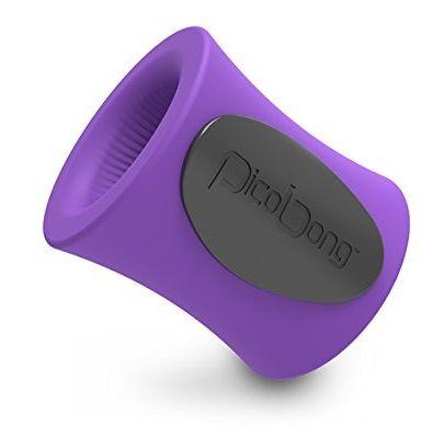 Фиолетовая виброчаша для мастурбации BLOWHOLE M-CUP
