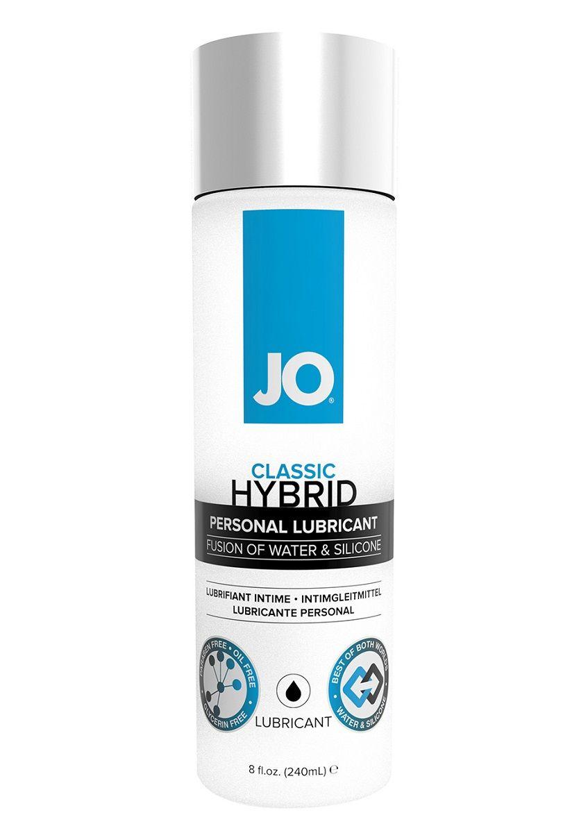 Лубрикант  на водно-силиконовой основе  JO CLASSIC HYBRID - 240 мл. - фото 1199814
