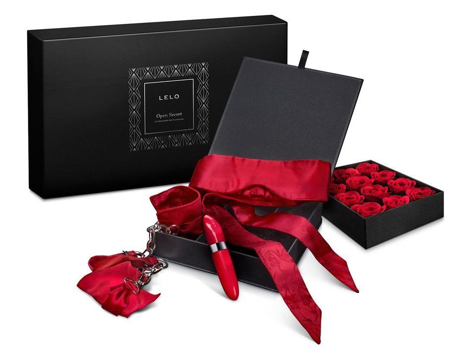Подарочный эротический набор Open Secret Gift Set