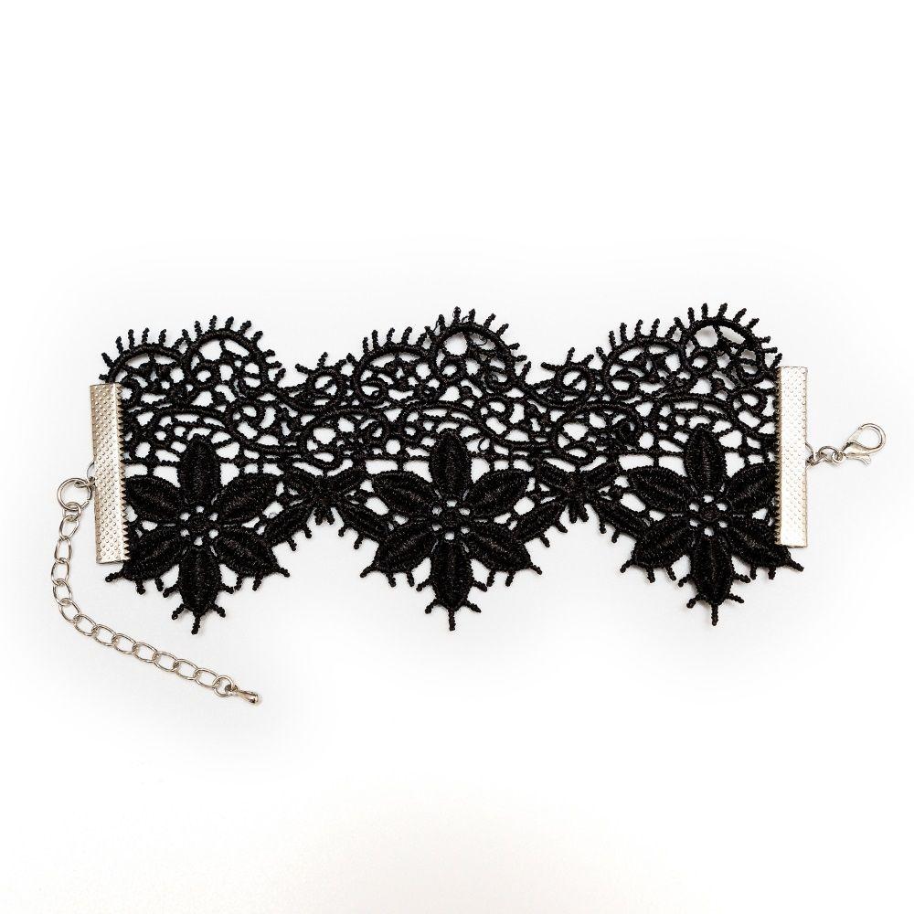 Кружевной браслет Albori с цветочными мотивами - фото 150998