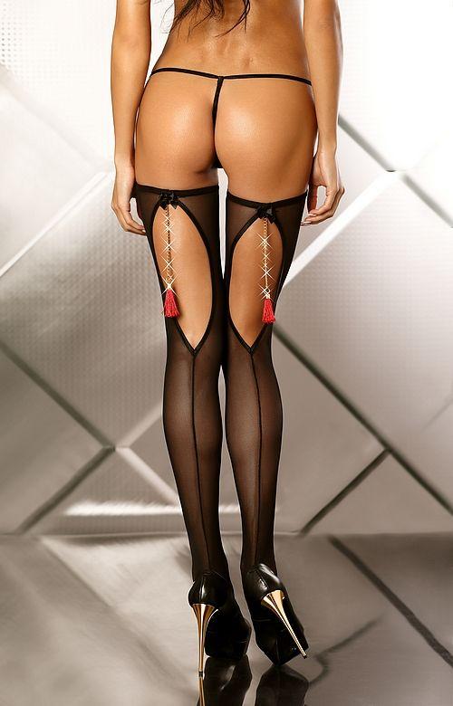 Чулочки с кисточками Boudoir Stockings