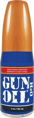 Лубрикант на водной основе с алоэ вера Gun Oil H2O Lubricant - 120 мл.