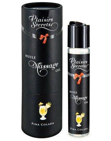Массажное масло с ароматом пина колады Huile de Massage Gourmande Pina Colada - 59 мл. - фото 151823