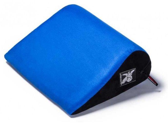 Синяя малая замшевая подушка для любви Liberator Retail Jaz - фото 1233584