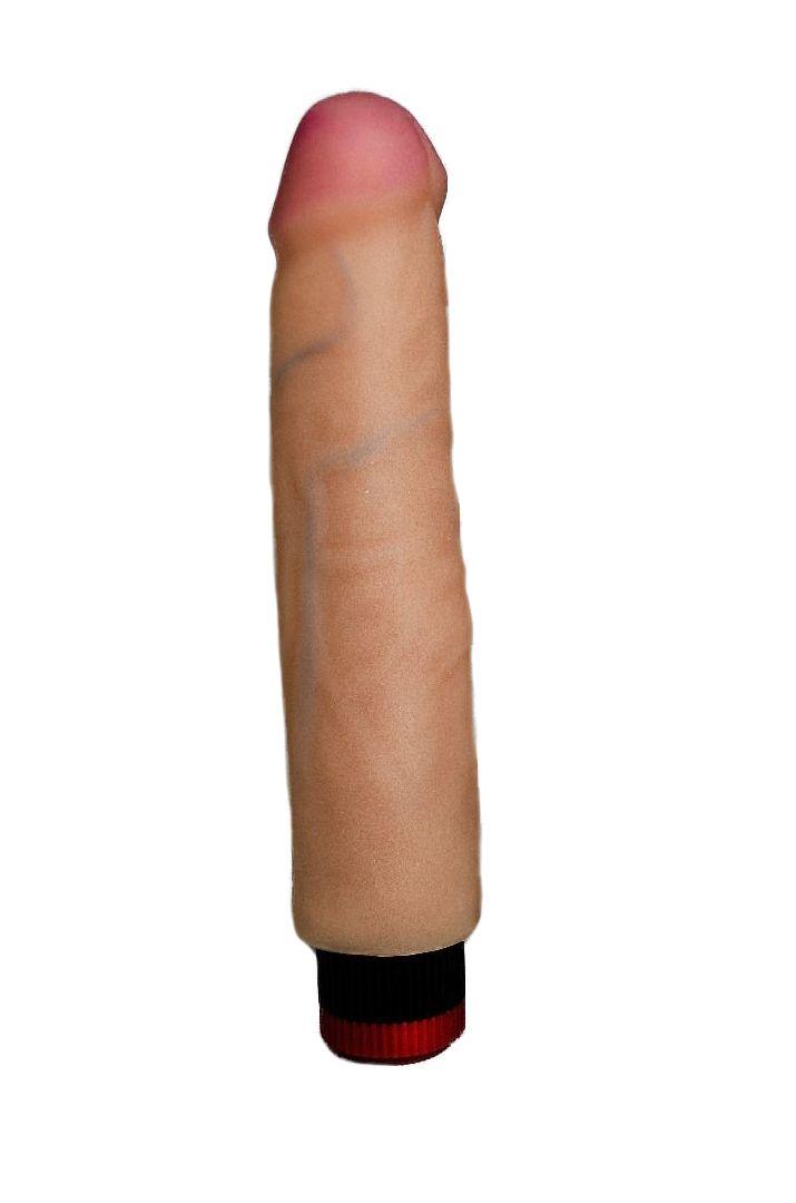 Вибратор HUMAN FORM без мошонки - 21 см.