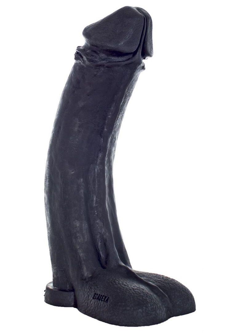 Черный фаллоимитатор-гигант  Мистер Большой  - 45 см. - фото 198691