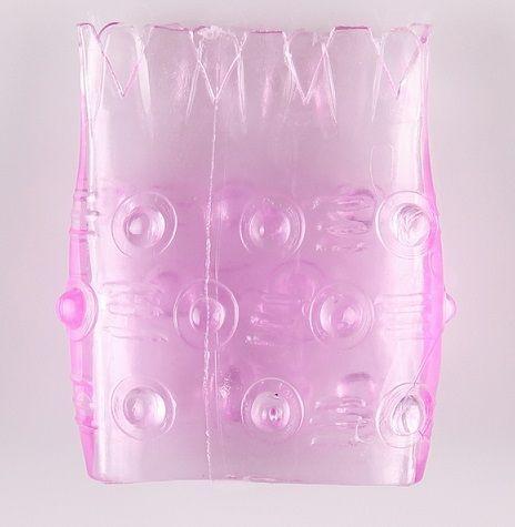 Розовая сквозная насадка  Ананасик  - фото 153169