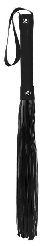 Чёрная плетка Whip - 53 см.