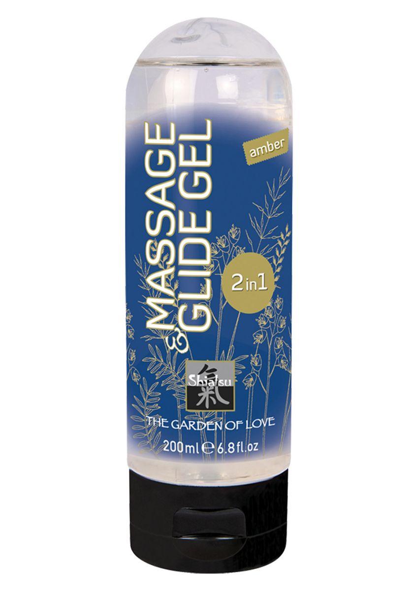 Массажный гель Massage   Glide Gel 2 in 1 Amber - 200 мл.