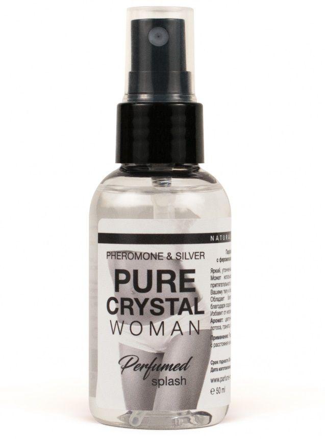 Женский парфюмированный спрей для нижнего белья Pure Crystal - 50 мл.