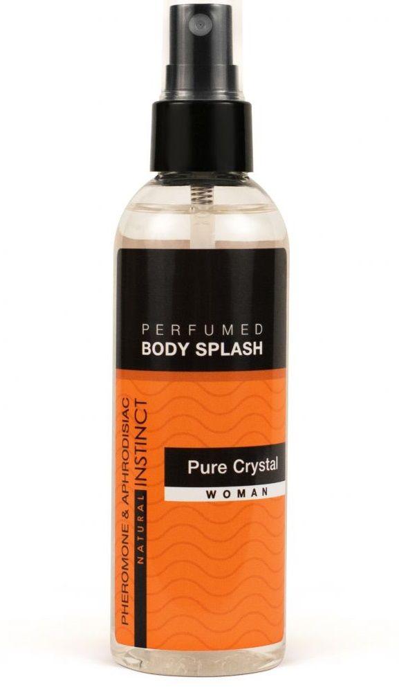 Женский спрей для тела с феромонами Pure Crystal - 100 мл. - фото 1166375