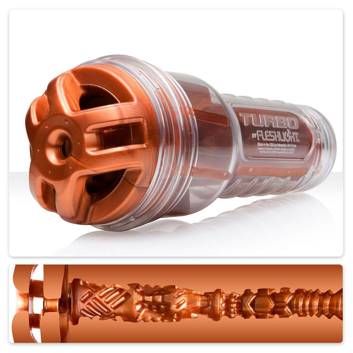 Мастурбатор Fleshlight Turbo - Ignition Copper