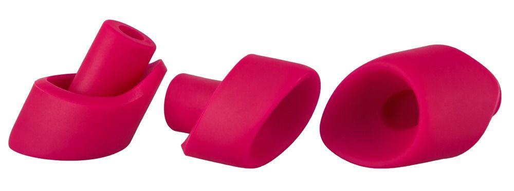 Набор из 3 насадок для вакуумного стимулятора Womanizer 2GO - фото 230798