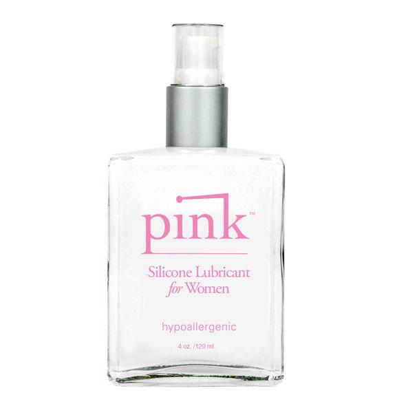 Силиконовый лубрикант Pink Silicone Intimate Lubricant - 120 мл.