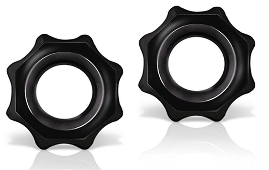Набор из 2 фигурных эрекционных колец Stay Hard Nutz - фото 1201706