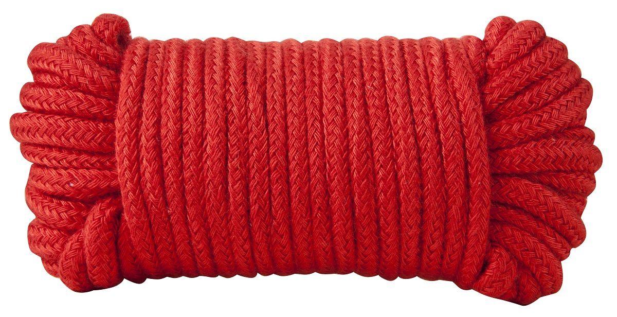 Красная хлопковая верёвка Bondage Rope 33 Feet - 10 м.