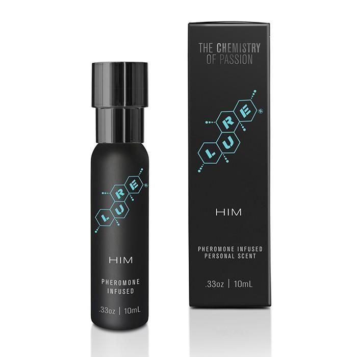 Мужской спрей для тела с феромонами Lure Black Label For Him Pheromone Personal Scent - 10 мл.