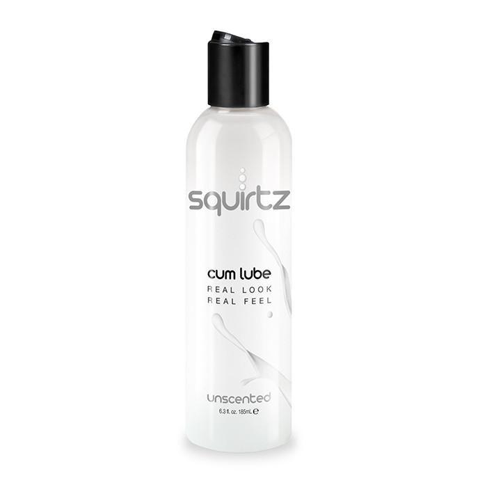 Лубрикант с консистенцией семенной жидкости Squirtz Cum Lube Unscented - 186 мл.