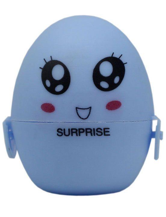 Голубой мастурбатор-яйцо SURPRISE PokeMon - фото 235113